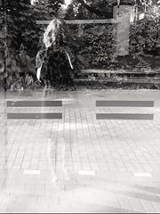 Sunday morning selfie (heleconia) Tags: sunday fotografie schwarzweis blackwhite vertikal selfie reflection goinghome