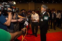 Lal Khan Malik Presser (michael_swan) Tags: ahmadiyyamuslimjamaatjalsasalamacanada2019international mississauga ontario canada ahmadiyyamuslimjamaatjalsasalamacanada2019internationalcentremississauga