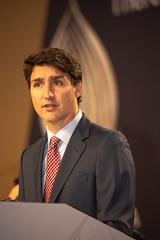 Trudeau Speaks (michael_swan) Tags: justintrudeauprimeministercanadamississauga mississauga ontario canada