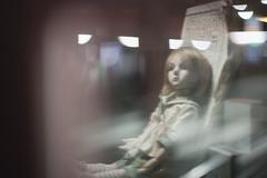 Window Reflection (Khronos-dolls) Tags: add tag doll bisquedoll seisen seisendolls poupeeenbiscuit coinbox publicphone