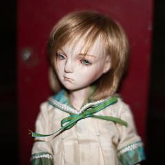 Mug shot (Khronos-dolls) Tags: add tag doll bisquedoll seisen seisendolls poupeeenbiscuit coinbox publicphone