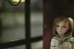 a faint thought (Khronos-dolls) Tags: add tag doll bisquedoll seisen seisendolls poupeeenbiscuit coinbox publicphone