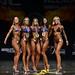 Bikini D 4th Lillies 2nd Black 1st Ouellette 3rd Drummond 5th Patrick