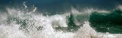 Kiss me again my sweet loved girl... (Sabine-Barras) Tags: réunion waves vagues wind vent océan ocean sea mer water eau waterscape
