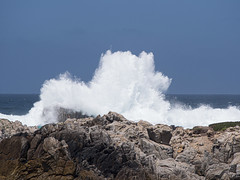 Monterey Peninsula Coast (Teelicht) Tags: brandung california kalifornien küste montereycounty nordamerika northamerica ozean pacificgrove pacificocean pazifik usa unitedstatesofamerica vereinigtestaaten coast ocean surf