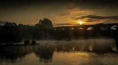 Reddish vale sunrise (sean4646) Tags: reddishvale sunrise stockport cheshire mist