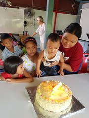 Cake for July birthdays 3 (SierraSunrise) Tags: thailand phonphisai nongkhai isaan esarn church christian celebrations birthdays cake dessert