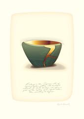 Kintsugi art13 (martinjhoward2) Tags: kintsugi wabisabi pottery art kintsukuroi japan japanese healing restoration redemption