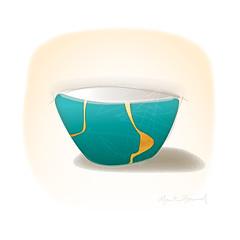 Kintsugi art5 (martinjhoward2) Tags: kintsugi wabisabi pottery art kintsukuroi japan japanese healing restoration redemption