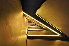 CaixaForum Zaragoza (a-r-g-u-s) Tags: caixaforum escaleras triangulo arquitectura zaragoza stairs