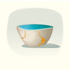 Kintsugi art10 (martinjhoward2) Tags: kintsugi wabisabi pottery art kintsukuroi japan japanese healing restoration redemption