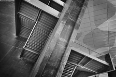 CaixaForum ZARAGOZA (a-r-g-u-s) Tags: stairs escaleras hormigon caixaforum arquirtectura