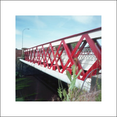 Newhall Road Bridge (oldeyes47) Tags: zeroimage kodak ektar100 bellini c41 epsonv600 sheffield southyorkshire pinholephotography filmphotography pinholecamera film
