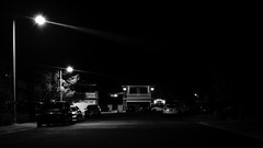 02469376422583-114-19-06-Street Lights Night Life-1-Black and White (Don't Mess With Jim) Tags: 2019 fujifilmxt30 fujifilmxf1855mmlens july summer street nightlights lasvegasnevada blackandwhite monochrome