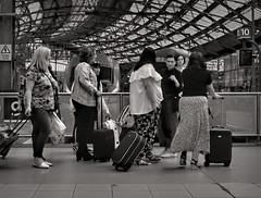 You Telling Me I'm Where....Liverpool? (whosoever2) Tags: uk united kingdom gb great britain england nikon d7100 train railway railroad july 2019 girls traveller passenger station liverpool limestreet merseyside