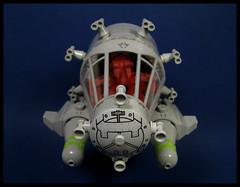 Spacestation Courtesy Tugboat (Karf Oohlu) Tags: lego moc scifi spaceship octopus cephalopod spacetugboat