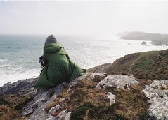 The Beacon 3 (Irish Normal) Tags: nikon nikkor 28mm ai f28 fm2n fm2 fm kodak colorplus200 film filmisnotdead thefilmcommunity ireland eire baltimore beacon westisbest westcoast wind ocean waves swell analog analogue c41 cork coastline coast 35mm