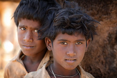 India, Gypsy boys in Pushkar (Dietmar Temps) Tags: ajmer asia camel camelfair camelherder cattle desert gypsy india kartikmela moustache nomadicpeople nomadictribe pushkar rabari rajasthan romanipeople sand shepard thardesert travel tribalpeople turban