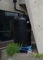 Rainwater storage at Lavender Place Community Gardens, June 2019 (karenblakeman) Tags: reading uk lavenderplace communitygardens foodgrowing june 2019 rainwaterstorage berkshire