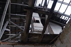 Casual speak (Alexander Oleynik) Tags: furnace attic roof lost durch dach himmel wall holz печь небо чердак облака сквозь