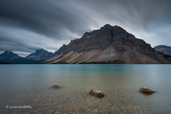 Bow Lake D85_4457.jpg (Mobile Lynn) Tags: water reflection landscape longexposure lake mountain landscapephotography outdoorphotography improvementdistrictno09 alberta canada