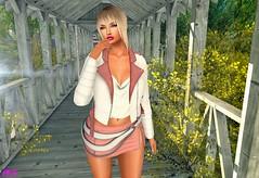 Surprise Of A Beatiful Afternoon (alexandra sunny) Tags: haveunequal svp catwa maitreya aviglam navycooper secondlife blog blogger fashion female woman landscape pink