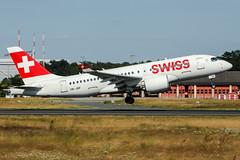 HB-JBF (PlanePixNase) Tags: frankfurt fra eddf airport aircraft planespotting swiss cseries cs100 bcs1 bombardier airbus a220 220100