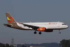 SX-KAT ZRH 29.06.2019 (Benjamin Schudel) Tags: airbus a320 zrh lszh zurich international airport swiss spotting orange 2 fly sxkat