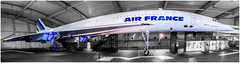Mighty Concorde (Persian.Gulf) Tags: concorde aircraft air france speed airplane jet panorama paris super sonic canon 700d 18135 travel