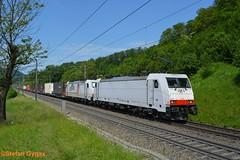 TX Logistik BR 186 908-6, BR 186 903-1 (isebahnverchehr.ch) Tags: txlogistik bombardier traxx br186 bözberg