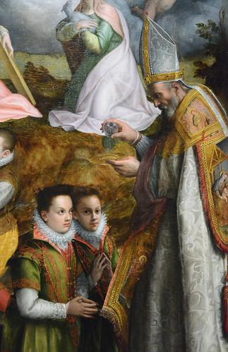 """""""Consécration à la Vierge"""", détail 2"""