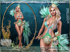 DRAGON SEA DRESS 3 COLORS INCLUDED1 (irrISIStible shop) Tags: swank maitreya belleza slink physic hourglass irrisistible shop sl second life secondlife dragon sea fish mermaid outfit clothes sexy bathsuit summer fantasy headpiece applier skirt mesh body design fashion hairs scales creature women costume roleplay