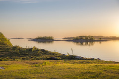 Softness of night (Sizun Eye) Tags: islet shoreline shore coast nordland norway senja softness midnightsun light night arctic sizuneye nikond750 tamron2470mmf28