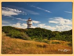 Der Wasserturm(2)-Langeoog (Jürgen von Riegen) Tags: beach water clouds strand germany landscape island deutschland wasser wolken insel ostfriesland landschaft langeoog lumix fourthirds mirrorless micro43 lumixg9