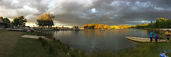 autumn colours (Just a hack with a phone camera) Tags: canberra burley griffin dragon boat autumn
