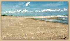 Strand-Wasser-Himmel(4)-Langeoog (Jürgen von Riegen) Tags: beach water clouds strand germany landscape island deutschland wasser wolken insel ostfriesland landschaft langeoog lumix fourthirds mirrorless micro43 lumixg9 sky himmel fourthirdsstrand
