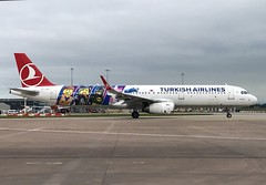 Turkish Airlines (Lego Livery) Airbus A321-231 TC-JSU (josh83680) Tags: manchesterairport manchester airport man egcc tcjsu airbus airbusa321231 a321231 airbusa321200 a321200 legolivery lego livery turkishairlines turkish airlines