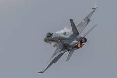 full re-heat (Cranswick852) Tags: aircraft airshow swiss riat riat2018 military afterburner canon canon5d canon5dmk3 canon5dmkiii ef100400mmf4556lisiiusm ef14xiii f18