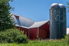 Harter barn (billd_48) Tags: oh ohio summer smp silvercreekmetropark architecture barn harterbarn doylestown usa