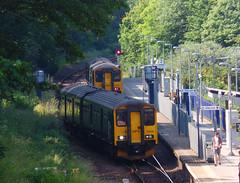 150261 & 150232 Penryn (2) (Marky7890) Tags: 150261 2t84 gwr 150232 class150 sprinter 2f85 penryn railway cornwall train maritimeline