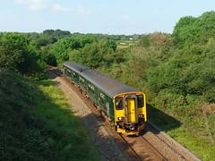 150261 Ringwell, Carnon Downs (2) (Marky7890) Tags: gwr 150261 class150 sprinter 2f88 ringwell railway carnondowns cornwall train maritimeline