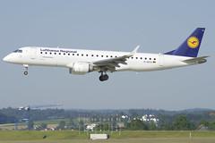 Lufthansa CityLine Embraer ERJ190; D-AECA@ZRH;25.06.2019 (Aero Icarus) Tags: zrh zürichkloten zürichflughafen zurichairport plane avion aircraft flugzeug lufthansacityline embraererj190 daeca