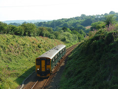 150261 Ringwell, Carnon Downs (1) (Marky7890) Tags: gwr 150261 class150 sprinter 2t86 ringwell railway carnondowns cornwall train maritimeline