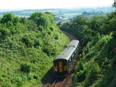 150232 Sparnick Tunnel (1) (Marky7890) Tags: gwr 150232 class150 sprinter 2t85 sparnicktunnel railway cornwall train maritimeline