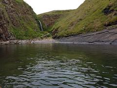 Forss waterfall from the Viking Norn language, Foss.. (Shandchem) Tags: sea kayaking latheronwheel caithness waterfall foss forss norn viking
