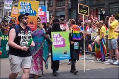 Pride London 2019 - DSCF2493a (normko) Tags: london pride parade 2019 regent street gay lesbian bi trans celebration protest rainbow imaan muslim