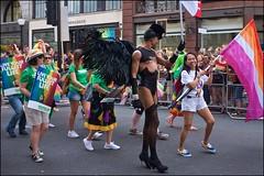 Pride London 2019 - DSCF2556a (normko) Tags: london pride parade 2019 regent street gay lesbian bi trans celebration protest rainbow macmillan
