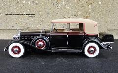 1932 Cadillac V-16 Model 452B All-Weather Phaeton (JCarnutz) Tags: 124scale diecast franklinmint 1932 cadillac v16 phaeton