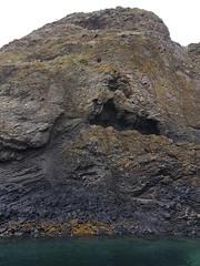 Faulted coastline north of Latheronwheel. (Shandchem) Tags: sea kayaking latheronwheel caithness hydrothermal activity