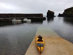 Latheronwheel with Prijon Poseidon 2 double sea kayak (Shandchem) Tags: sea kayaking latheronwheel stack